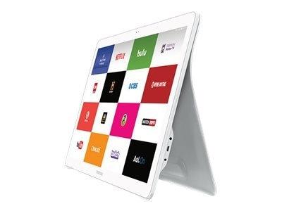 Samsung Galaxy View Tablet Android 5.1 Lollipop 32 GB 18.4 inch 1920 x 1080 microSD slot white SM T670NZWAXAR