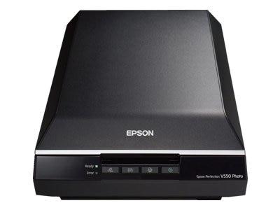 Epson Perfection V550 Photo Flatbed scanner 8.5 in x 11.7 in 6400 dpi x 9600 dpi USB 2.0 B11B210201