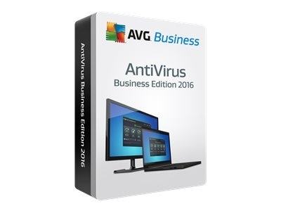 AVG AntiVirus Business Edition 2016 Subscription license 1 year 2 computers download Win English