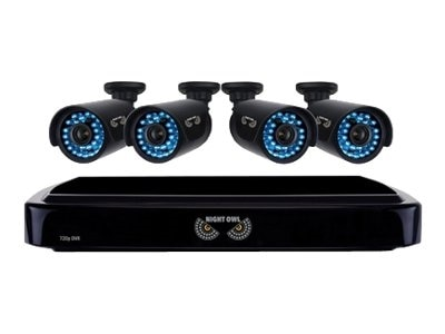 Night Owl LLC Night Owl B A720 41 4 DVR camera s 4 channels 1 x 1 TB 4 camera s