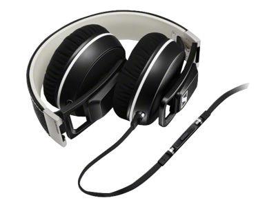 Sennheiser Urbanite XL Headphones with mic full size 3.5 mm jack black 506085