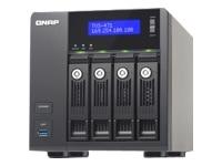 Qnap TVS 471 NAS server 4 bays Sata 6Gb s Raid 0 1 5 6 10 Jbod 5 hot spare Gigabit Ethernet iSCSI TVS 471 i3 4G US
