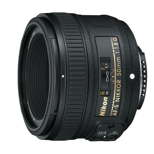 Nikon AF-S 50mm f/1.8G NIKKOR Lens