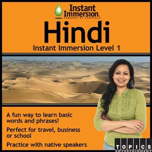 Topics Entertainment Instant Immersion Hindi Level 1 License 1 user download Win