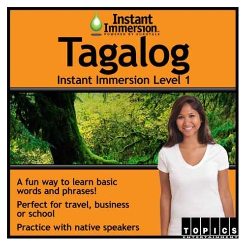Topics Entertainment Instant Immersion Tagalog Level 1 License 1 user download Win