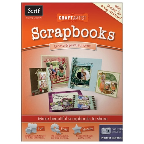 serif CraftArtist Scrapbooks License 1 user download Win