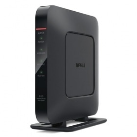 Buffalo Technology INC. Buffalo AirStation WZR 600DHP Wireless router 4 port switch GigE 802.11a b g n Dual Band wall mountable