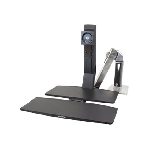 Ergotron WorkFit A Single LD with Worksurface stand 24 317 026
