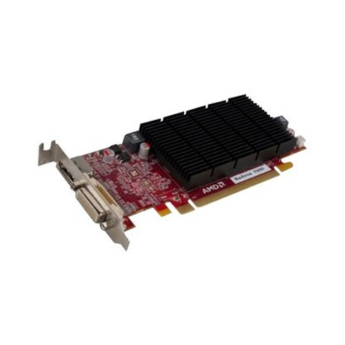 VisionTEK Radeon 7350 SFF 1GB DDR3 3M DMS59 2x DVI I DP w 2x DVI I to VGA Adapter 900607