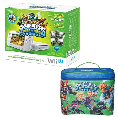 WiiU System bundle with Skylanders and Carrying Case with $25 PROMO eGift Card