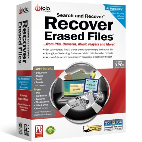 Iolo Technologies Download – iolo Search and Recover 1 Year