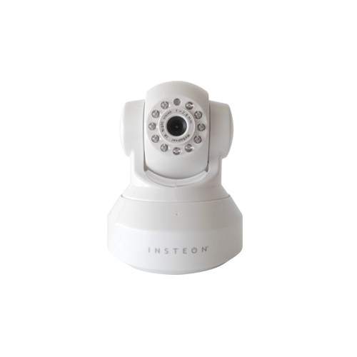 Insteon WI FI HD Camera With PAN Tilt Night Vision White
