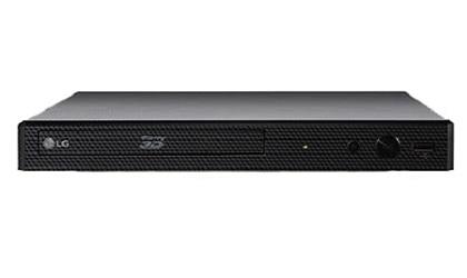 LG BP550 3D Blu ray disc player upscaling Ethernet Wi Fi