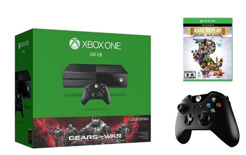 Dell - Xbox One 500 GB System Bundle - $349.99