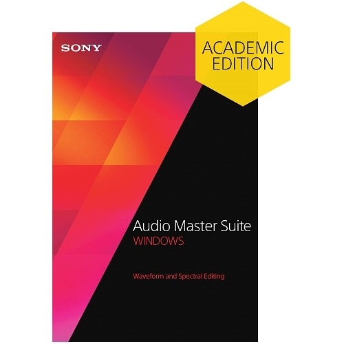 Sony Corporation Download Sony Audio Master Suite 2 Academic