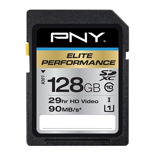 PNY Technologies PNY Elite Performance Flash memory card 128 GB UHS Class 3 Class10 Sdxc UHS I P SDX128U395 GE