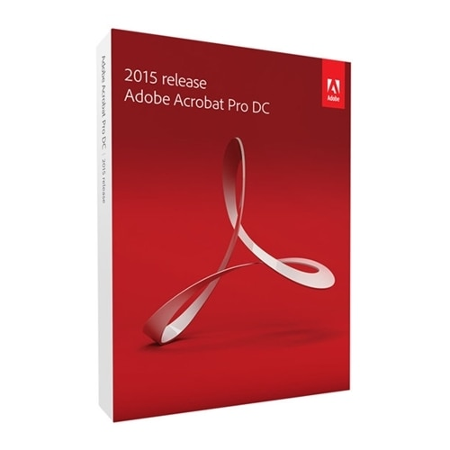 Adobe Systems Adobe Acrobat Pro DC Box pack upgrade 1 user DVD Win Upgrade