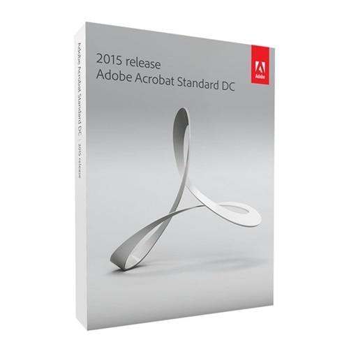 Adobe Systems Adobe Acrobat Standard DC Box pack upgrade 1 user DVD Win Upgrade