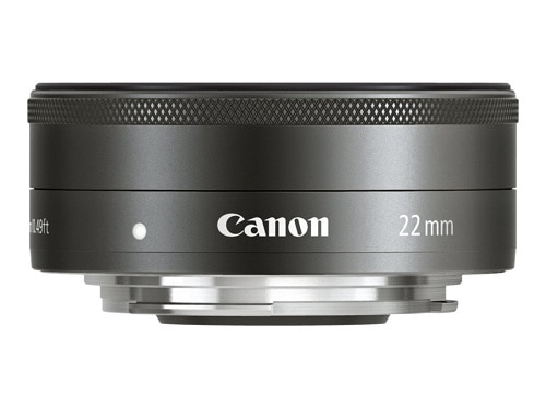 Canon EF M Wide angle lens 22 mm f 2.0 STM EF M for EOS M M5