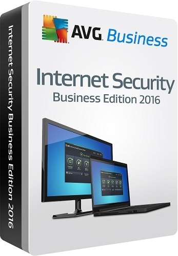 AVG Internet Security Business Edition 2016 Subscription license 2 years 5 computers download Win English