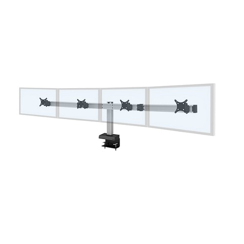 Innovative Office Products INC Innovative Desk mount for 4 LCD displays screen size up to 24 inch 62717 4 104