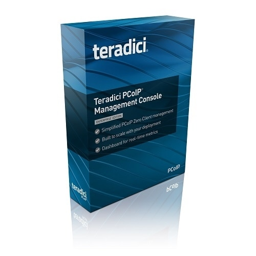 Teradici Corporation PCoIP Management Console Enterprise Edition Subscription license 1 year 500 devices Win