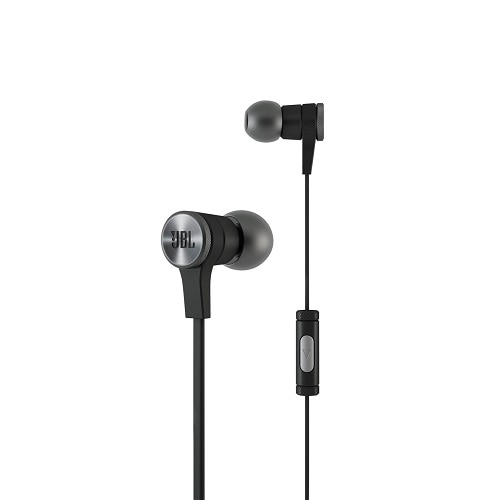 JBL Synchros E10 Earphones with mic in ear 3.5 mm jack black E10BLKNP
