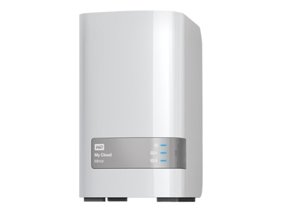 WD My Cloud Mirror Gen 2 WDBWVZ0060JWT personal cloud storage device 6 TB WDBWVZ0060JWT NESN