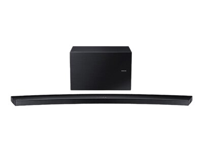 Samsung HW-J8500R - Sound bar system - for home theater - 9.1-channel - wireless - 350-watt (total) - black