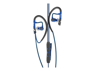 Klipsch AS 5i Earphones with mic in ear over the ear mount noise isolating blue 1062328
