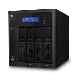 WD My Cloud PR4100 WDBNFA0080KBK NAS server 4 bays 8 TB HDD 2 TB x 4 Raid 0 1 5 10 Jbod Gigabit Ethernet WDBNFA0080KBK NESN