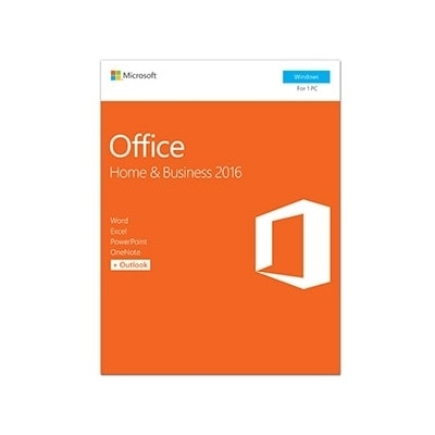 Microsoft Corporation Microsoft Office Home and Business 2016 Box pack 1 PC 32 64 bit medialess P2 Win English North America