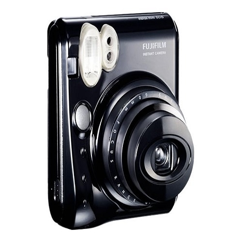 FujiFilm Instax Mini 50S Instant camera lens 60 mm piano black