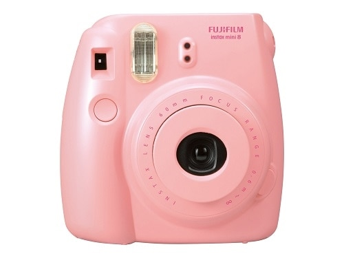 FujiFilm Instax Mini 8 Instant camera lens 60 mm pink