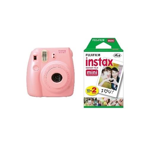 FujiFilm Instax Mini 8 Pink Twin Pack Instant Film