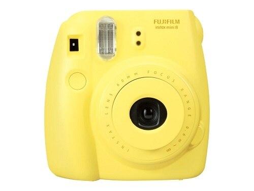 FujiFilm Instax Mini 8 Instant camera lens 60 mm yellow