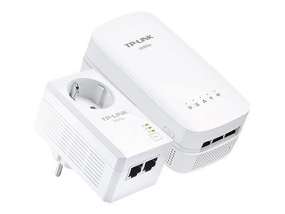 TP Link TL WPA4530 KIT AV500 Powerline ac Wi Fi Kit bridge 802.11a b g n ac wall pluggable