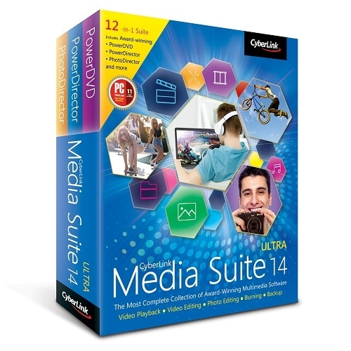 Cyberlink Media Suite Ultra v. 14 license 1 user Win