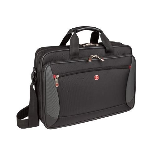 SwissGear Mainframe Laptop Briefcase Laptop carrying case 16 inch black