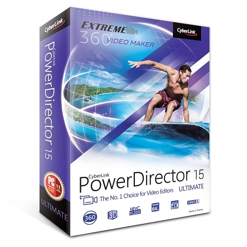 Cyberlink Download PowerDirector 15 Ultimate