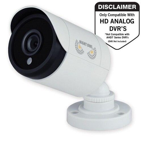 Night Owl LLC Night Owl CAM HDA10W BU Cctv camera outdoor weatherproof color Day Night 2 MP 1080p composite DC 12 V