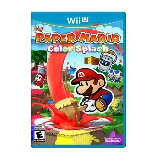 Click here for Nintendo Paper Mario Color Splash - Wii U prices