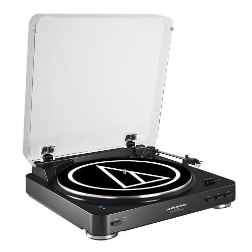 Audio Technica Audio Technica AT LP60BK BT Turntable with Bluetooth Black