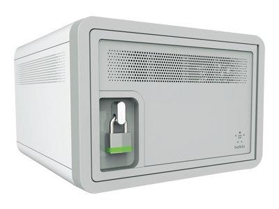 Belkin Components Belkin Secure and Charge Cabinet unit for 10 tablets cart mountable desktop stand