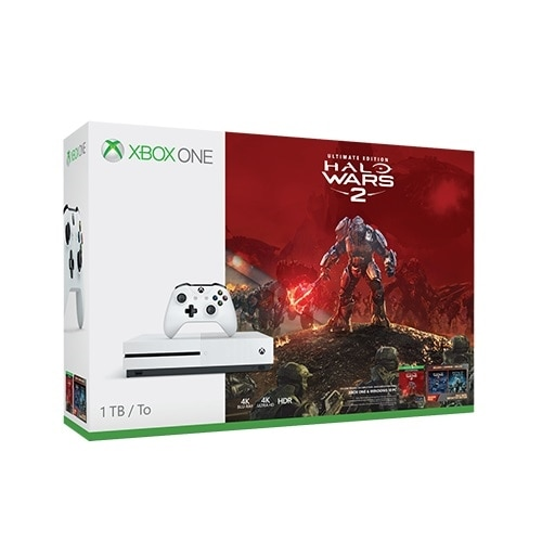 Click here for Xbox One S 1TB Halo Wars 2 bundle prices