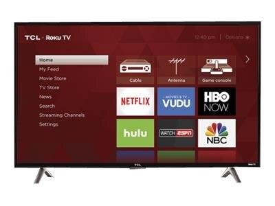 TCL Roku TV 43S305 43 Class LED TV Smart TV 1080p Full HD