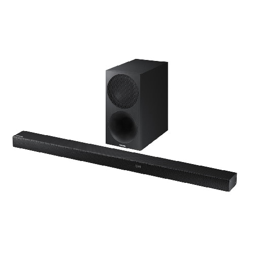 Samsung HW-M550 - Sound bar system - for home theater - 3.1-channel - wireless - Bluetooth - 340-watt (total)