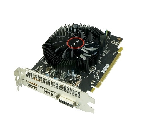 Click here for VisionTek Radeon RX 550 - Graphics card - 2 GB GDD... prices