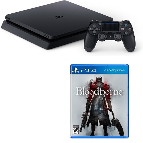 Click here for PlayStation 4 Slim 1TB Console with Bloodborne prices