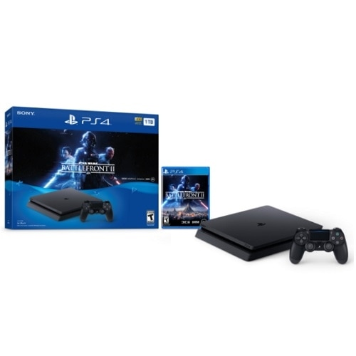 Click here for Sony PlayStation 4 Star Wars Battlefront ll Bundle Game console 1 TB HDD prices